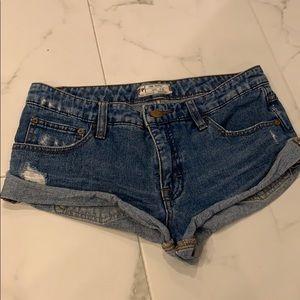 Free people shorts!